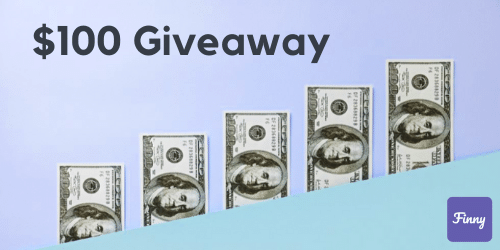 $100 Giveaway